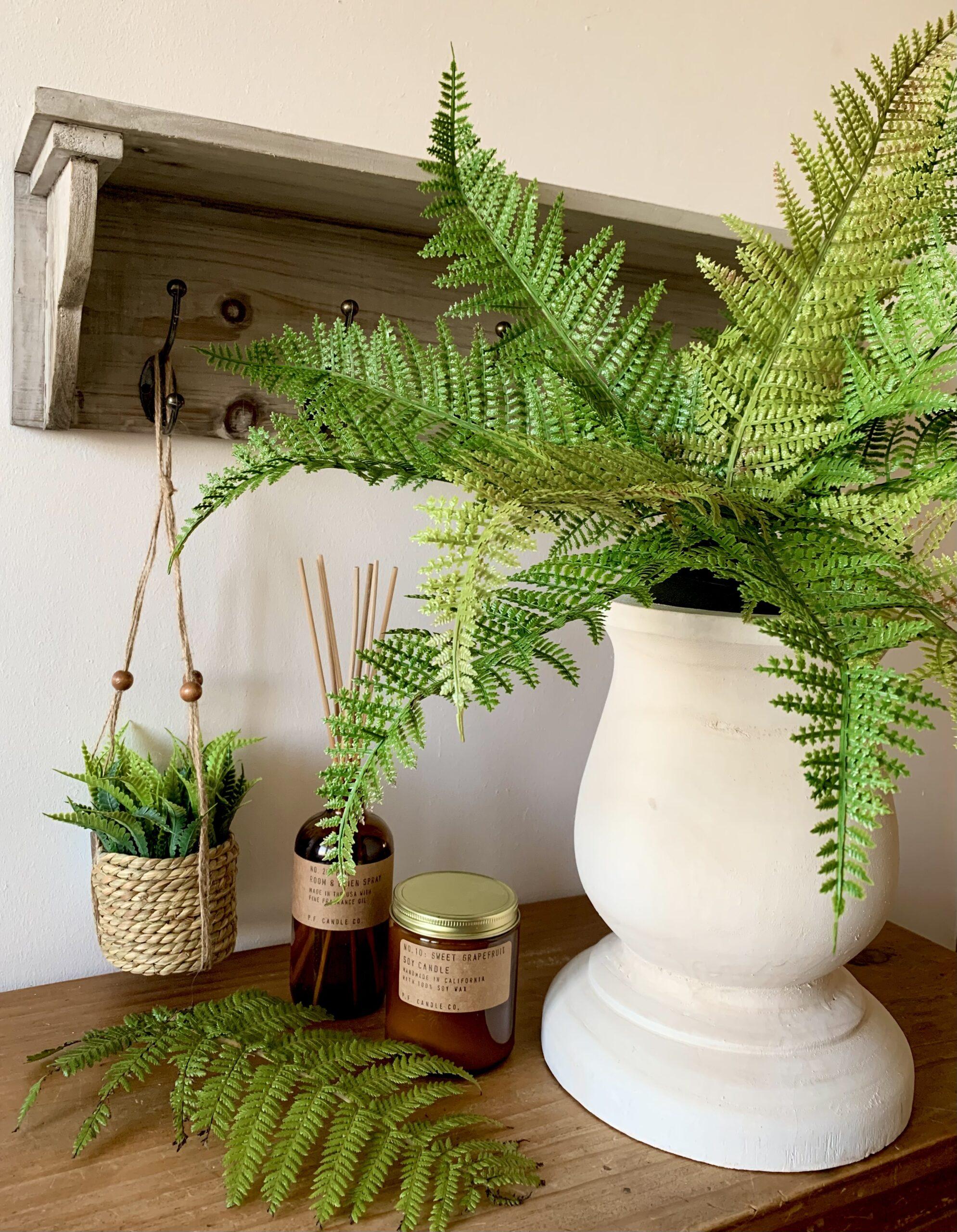 Faux Flowers & Greenery